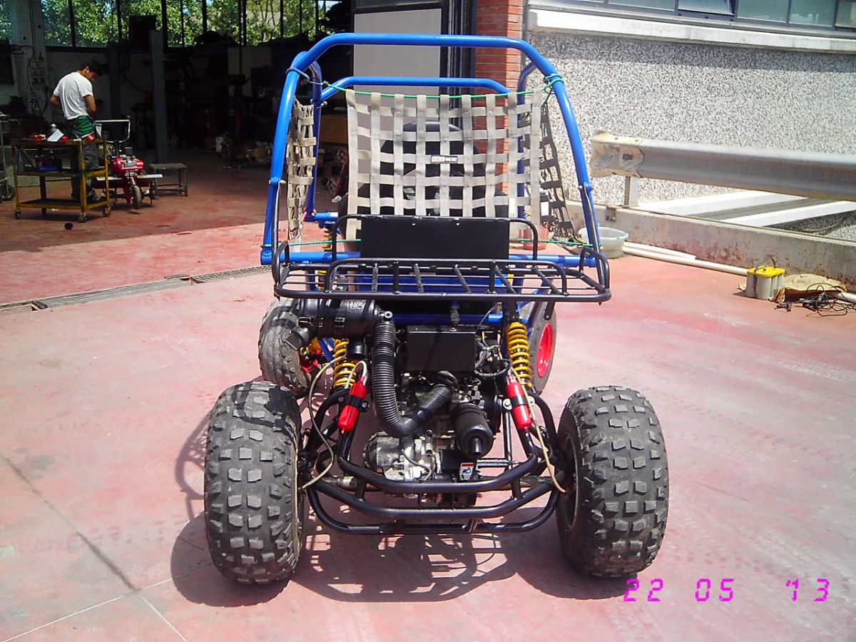 139E400 - OFF ROAD GO-KART HONDA RALLY