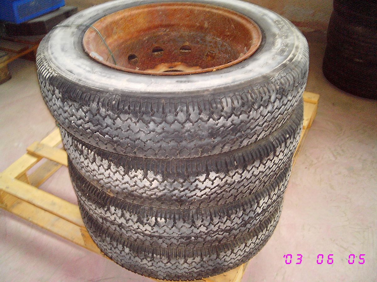 305A 4 RUOTE GOMME PNEUMATICI 175 80 R16