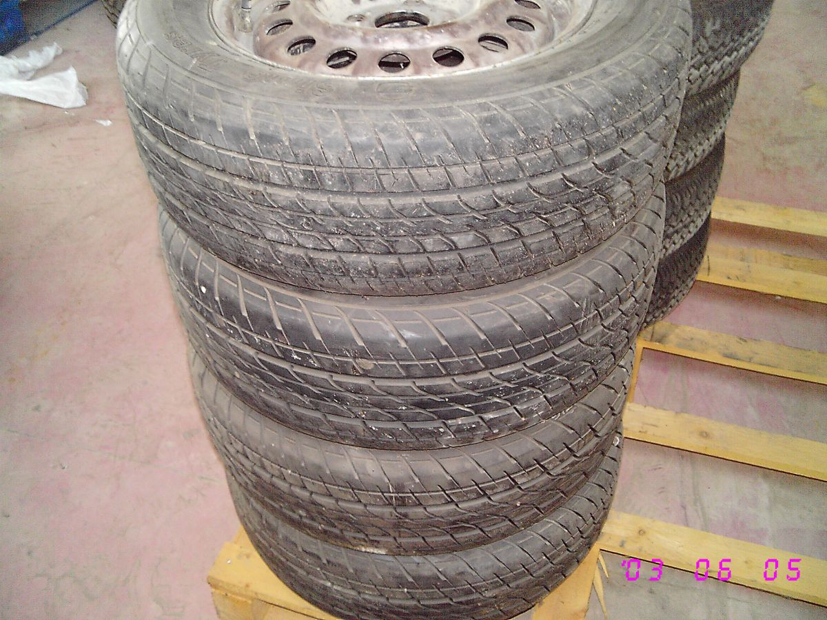 306A 4 RUOTE GOMME PNEUMATICI 195 60 R14 86H