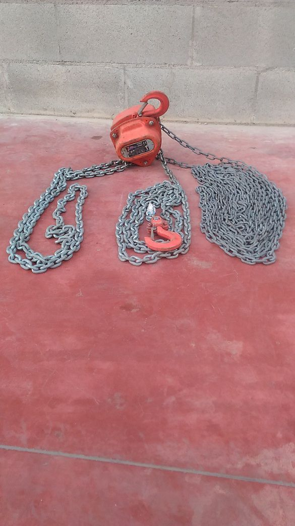 348-30-B-PARANCO A CATENA LIFTING GEAR