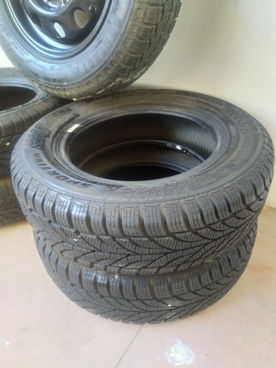 512T- 4 GOMME 165 70 R13 M+S 4STAGIONI COME NUOVE