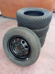 6-RUOTE PNEUMATICI GOMME 165 70 R13 M+S 5