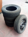 6-RUOTE PNEUMATICI GOMME 165 70 R13 M+S 1
